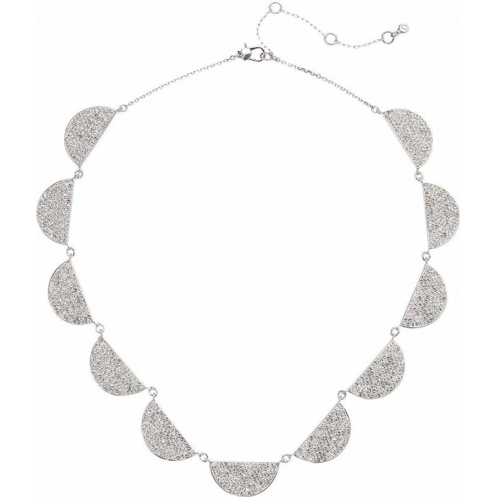 ケイト スペード Kate Spade New York レディース ネックレス ジュエリー・アクセサリー【Mod Scallop Pave Necklace】Clear