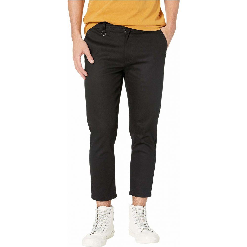 パブリッシュ Publish メンズ クロップド アンクル ボトムス・パンツ【Premium Stretch Twill Fabric Ankle Fit Pants】Black