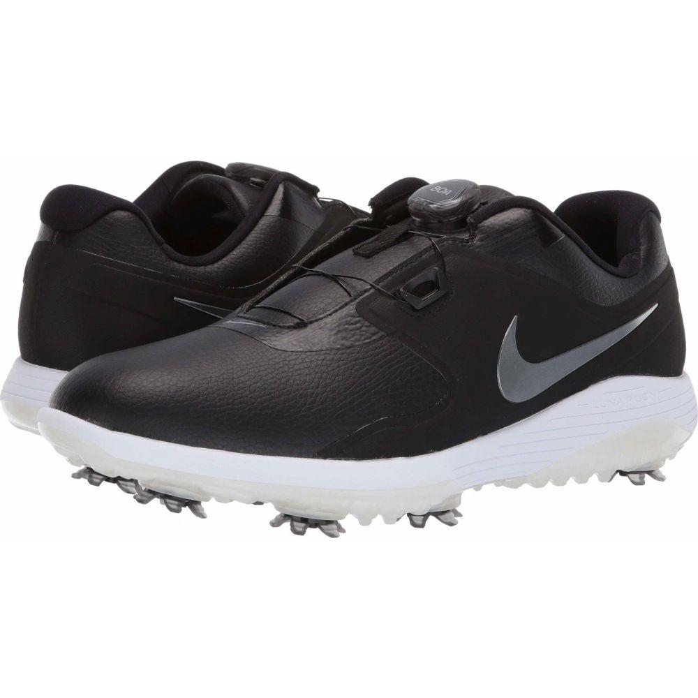 ナイキ Nike Golf メンズ シューズ・靴 【Vapor Pro BOA】Black/Metallic Cool Grey/White/Volt