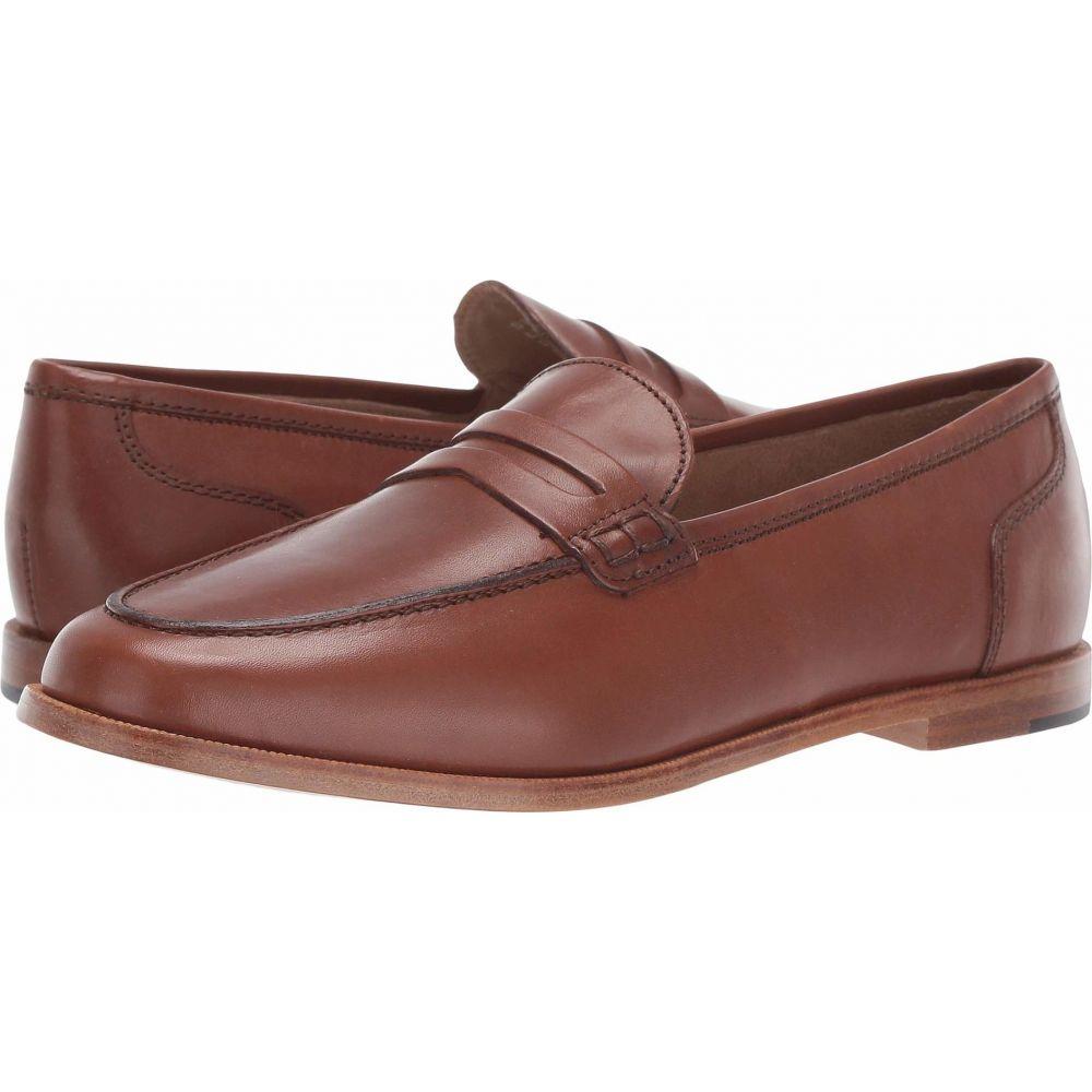 ジェイクルー J.Crew レディース ローファー・オックスフォード シューズ・靴【Ryan Penny Loafers in Leather】Burnished Pecan