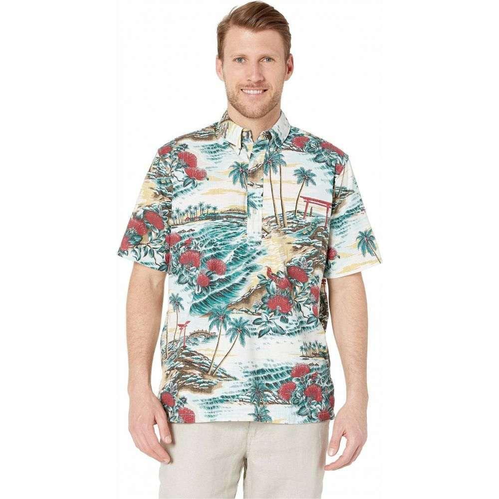 レインスプーナー Reyn Spooner メンズ シャツ アロハシャツ トップス【Banyan Drive Classic Hawaiian Shirt】Eggshell
