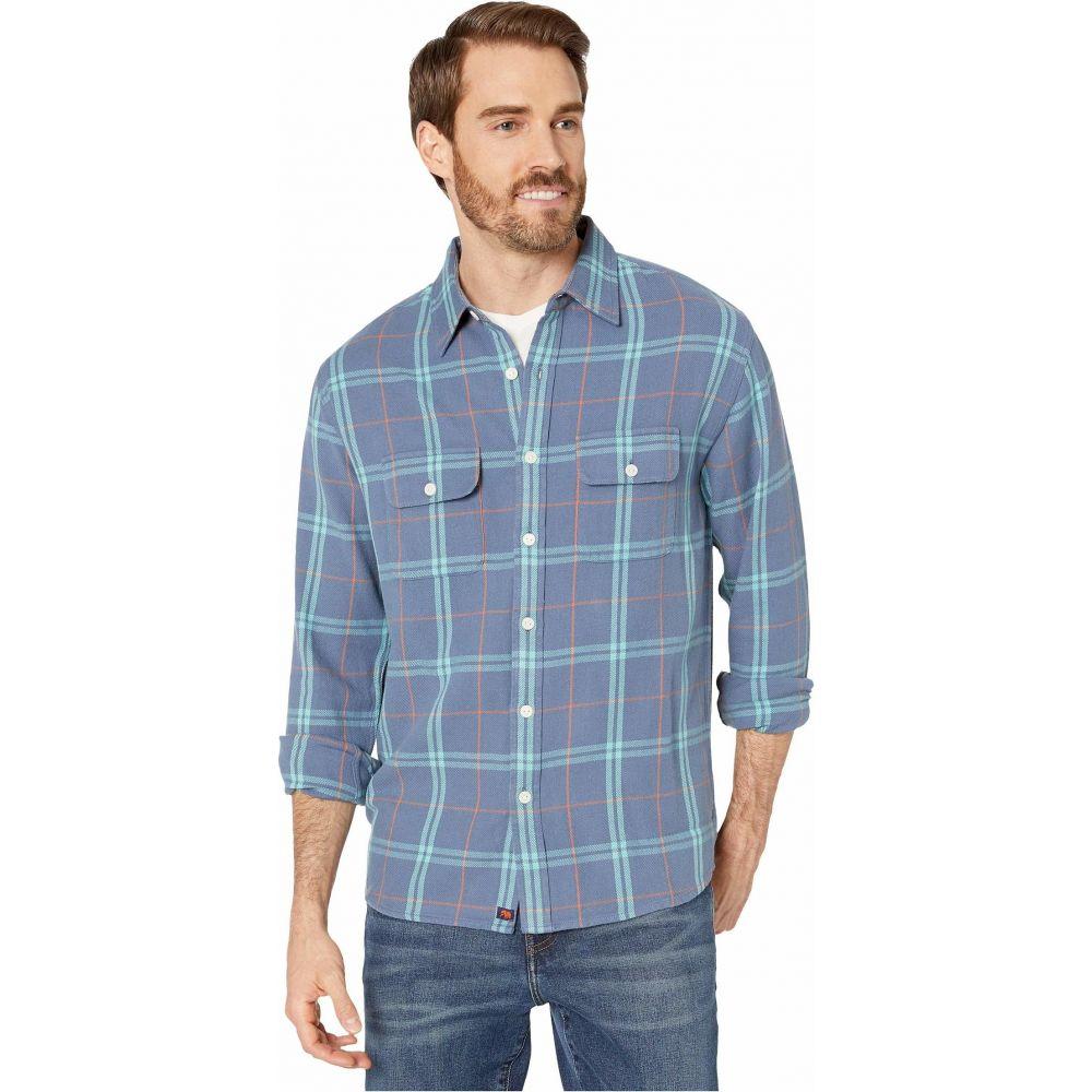 ノーマルブランド The Normal Brand メンズ シャツ オーバーシャツ トップス【Mountain Overshirt】Blue
