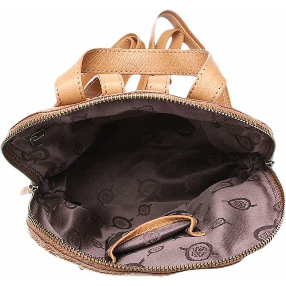 ボーン Born レディース バックパック・リュック バッグ【Cinnabar Leather Backpack】Saddle