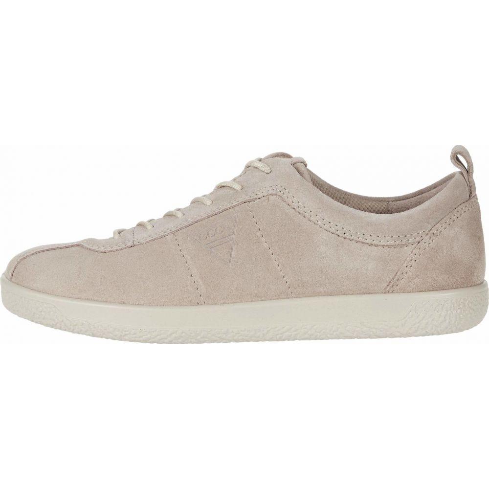 エコー ECCO レディース スニーカー シューズ・靴 Soft 1 Sneaker Grey RosexeQCBWodr