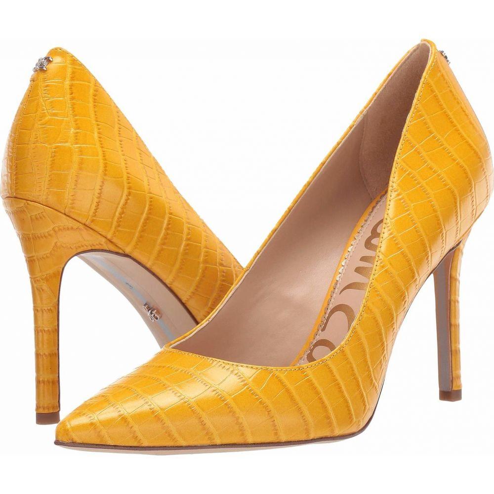 サム エデルマン Sam Edelman レディース パンプス シューズ・靴【Hazel】Dijon Yellow Kenya Croco Embossed Leather