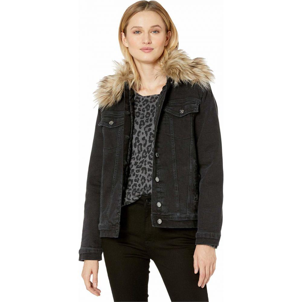 マーヴィ ジーンズ Mavi Jeans レディース ジャケット アウター【Karla Boyfriend Jacket in Smoke Fake Fur】Smoke Fake Fur