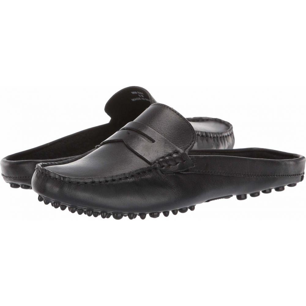 マッテオ マッシモ Massimo Matteo レディース サンダル・ミュール シューズ・靴【Penny Mule】Black