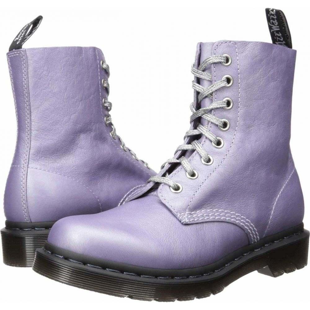 ドクターマーチン Dr. Martens レディース ブーツ シューズ・靴【1460 Pascal Metallic】Lavender Metallic Virginia