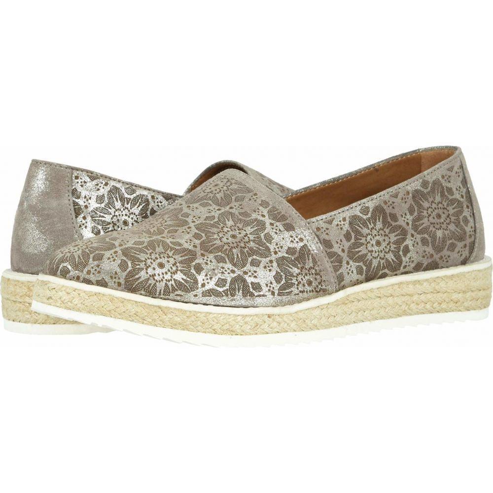 トラスク Trask レディース ローファー・オックスフォード シューズ・靴【Cailyn】Pewter Metallic Italian Suede