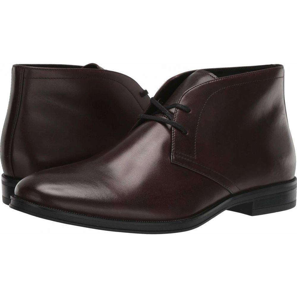 カルバンクライン Calvin Klein メンズ ブーツ シューズ・靴【Wolfe】Mahogany Crust Leather
