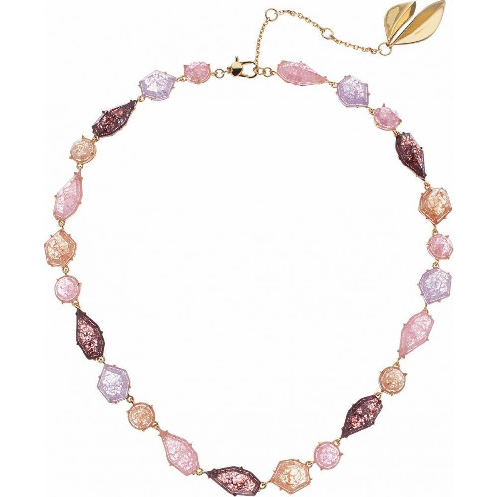 ケイト スペード Kate Spade New York レディース ネックレス ジュエリー・アクセサリー【Floral Facets Collar Necklace】Pink Multi