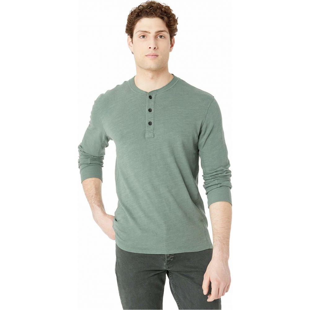 ラグ&ボーン rag & bone メンズ Tシャツ ヘンリーシャツ トップス【Classic Henley】Forest