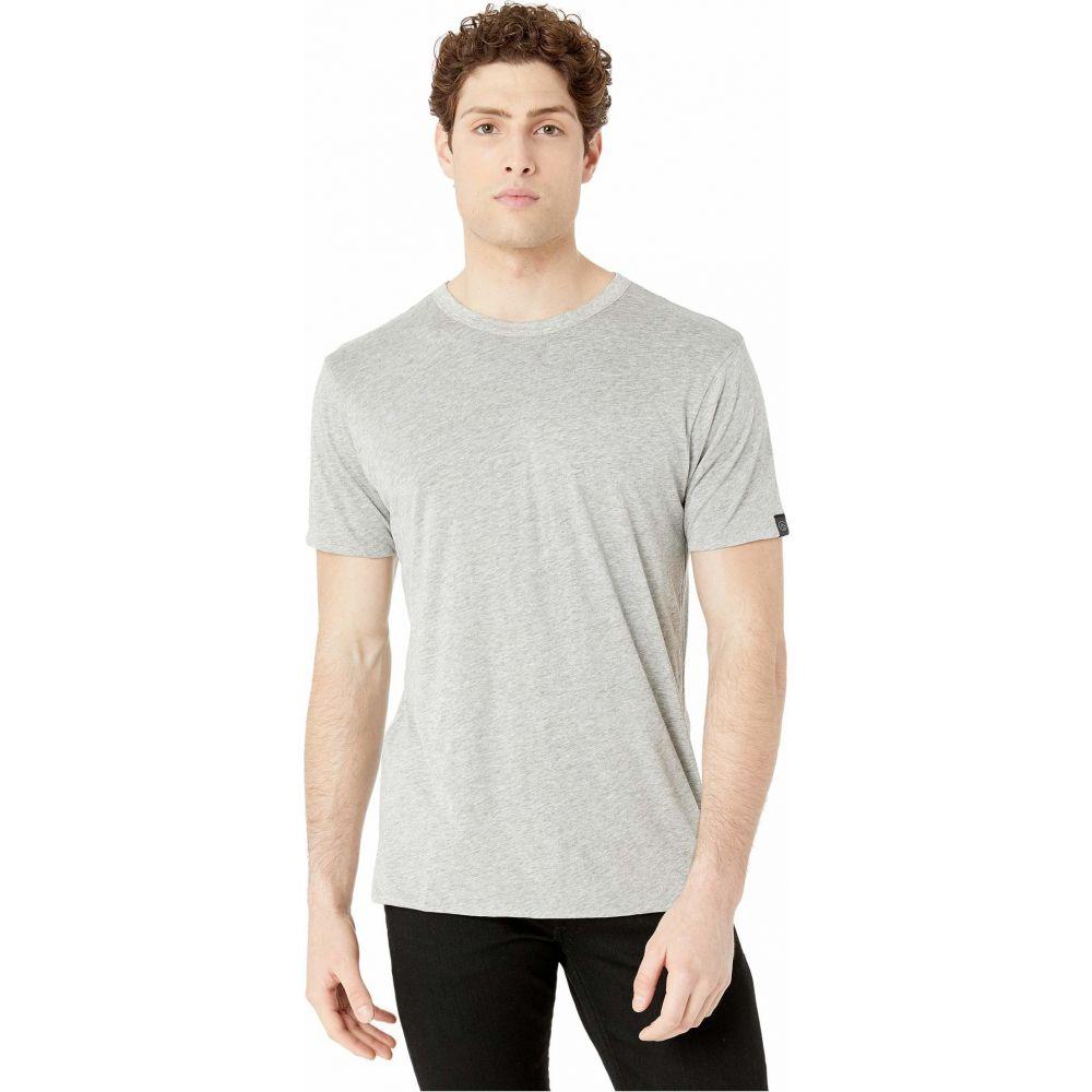 ラグ&ボーン rag & bone メンズ Tシャツ トップス【Reverse Short Sleeve Tee】Heather/Charcoal