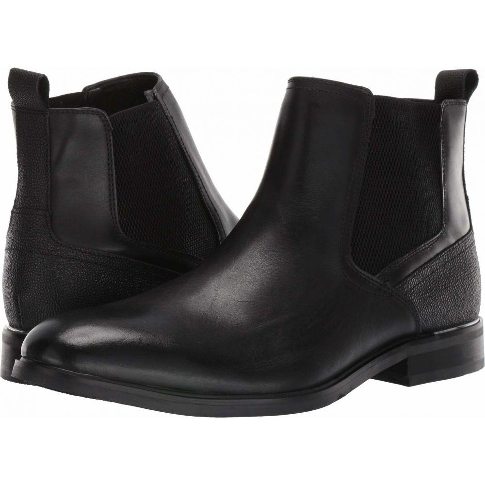 スティーブ マデン Steve Madden メンズ ブーツ チェルシーブーツ シューズ・靴【Affinity Chelsea Boot】Black Leather