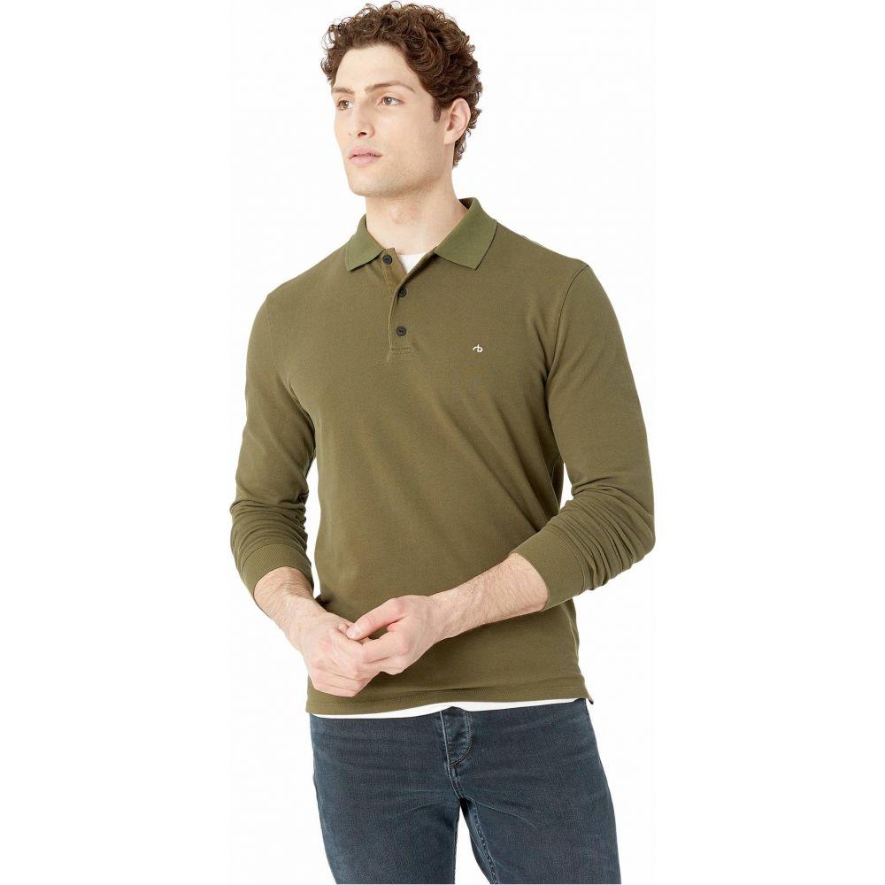 ラグ&ボーン rag & bone メンズ ポロシャツ トップス【Hyper-Laundered Pique Polo Long Sleeve】Army