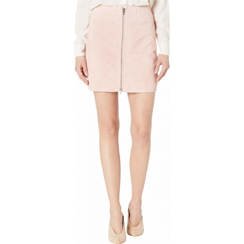 ブランクニューヨーク Blank NYC レディース スカート 【Real Suede Skirt with Zipper Detail in Pink Pearl】Pink Pearl