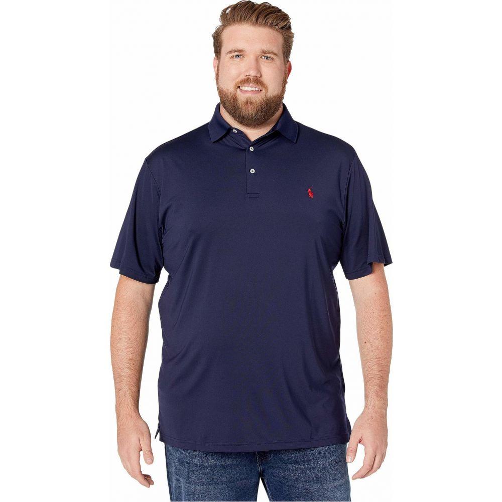 ラルフ ローレン Polo Ralph Lauren Big & Tall メンズ ポロシャツ 大きいサイズ 半袖 トップス【Big & Tall Short Sleeve Performance Polo】French Navy
