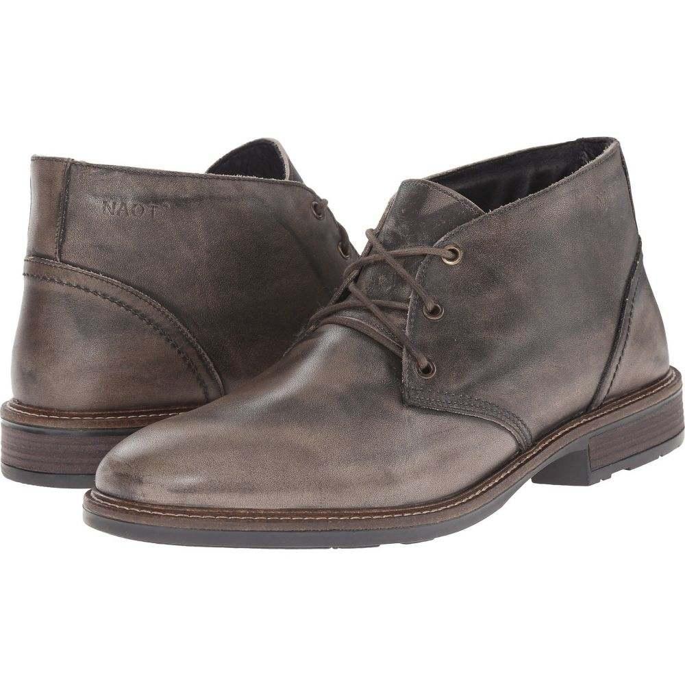 ナオト Naot メンズ ブーツ シューズ・靴【Pilot】Vintage Gray Leather