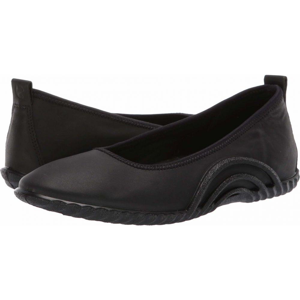 エコー ECCO レディース スリッポン・フラット シューズ・靴【Vibration 1.0 Ballerina】Black