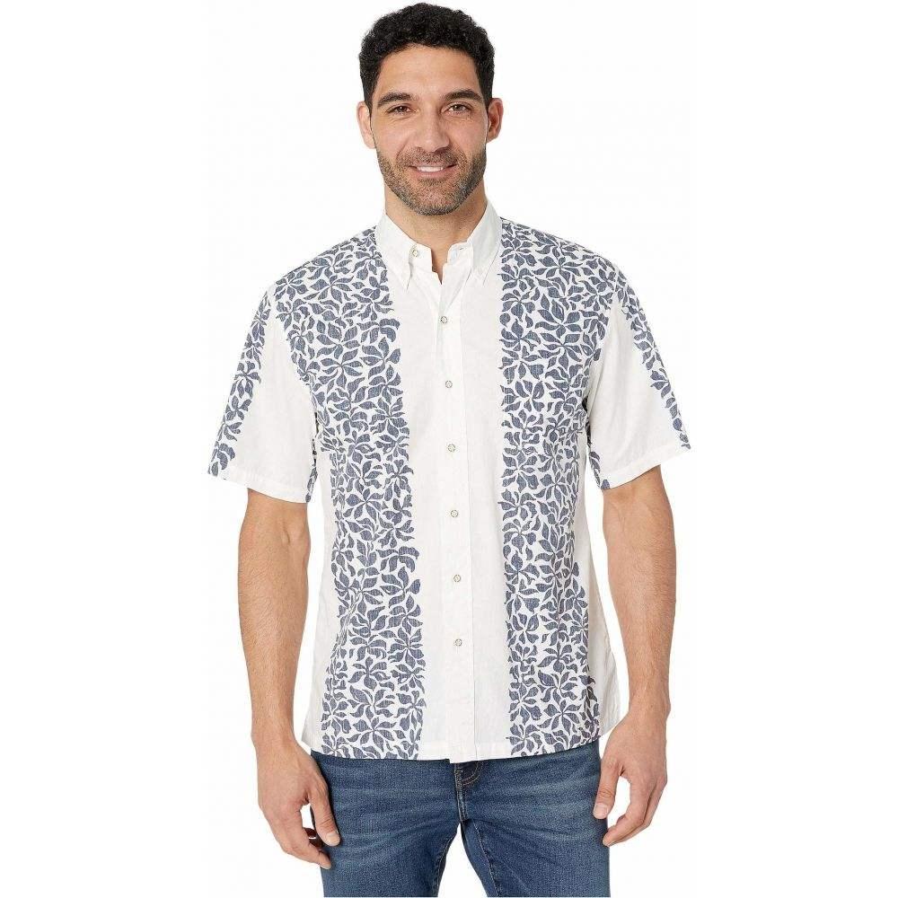 レインスプーナー Reyn Spooner メンズ シャツ アロハシャツ トップス【Summer Stripe Classic Hawaiian Shirt】White Alyssum