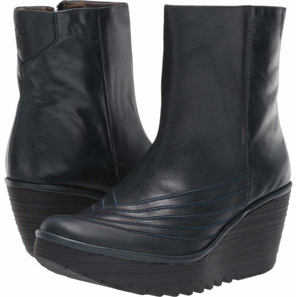 フライロンドン FLY LONDON レディース ブーツ シューズ・靴【YENI062FLY】Dark Petrol Giglio