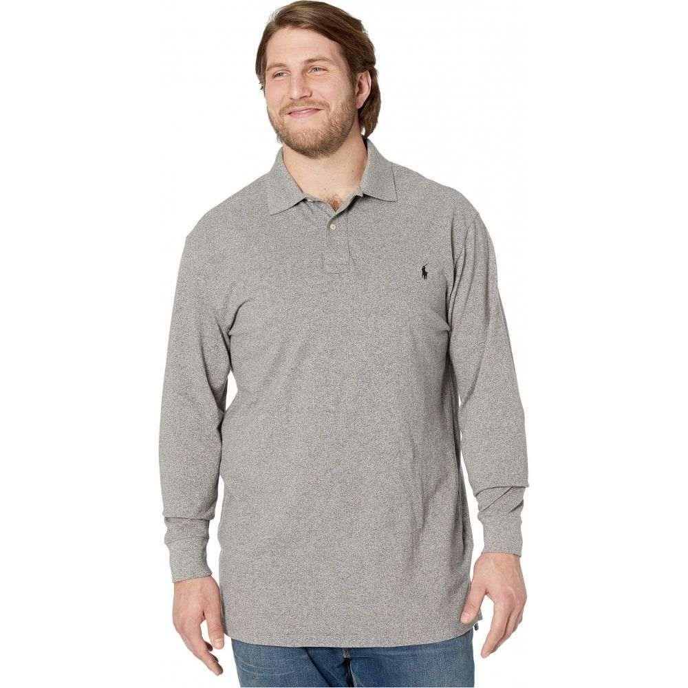 ラルフ ローレン Polo Ralph Lauren Big & Tall メンズ ポロシャツ 大きいサイズ トップス【Big & Tall Long Sleeve Solid Mesh】Canterbury Heather