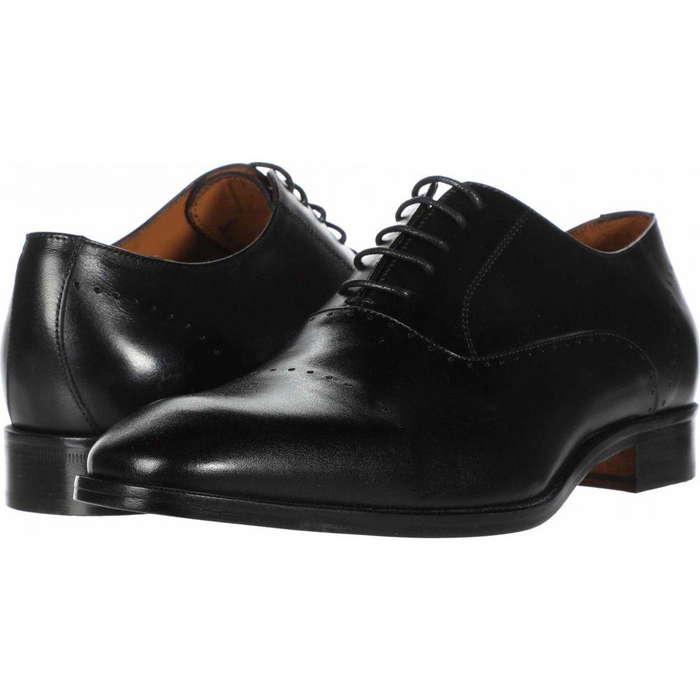 マッテオ マッシモ Massimo Matteo メンズ 革靴・ビジネスシューズ シューズ・靴【Perf Bal Cap Toe】Black
