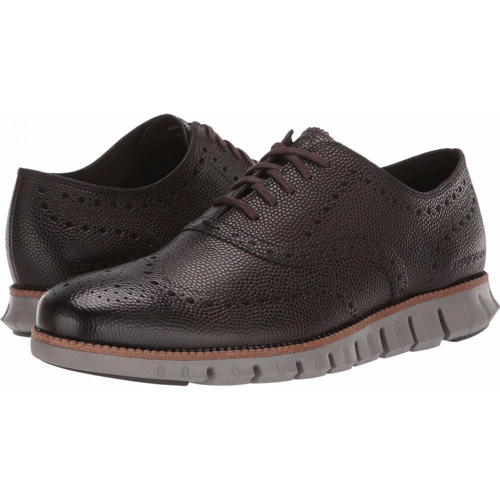 コールハーン Cole Haan メンズ 革靴・ビジネスシューズ シューズ・靴【Zerogrand Wing Ox】CH Black Walnut Pebbled Leather/Rock Ridge