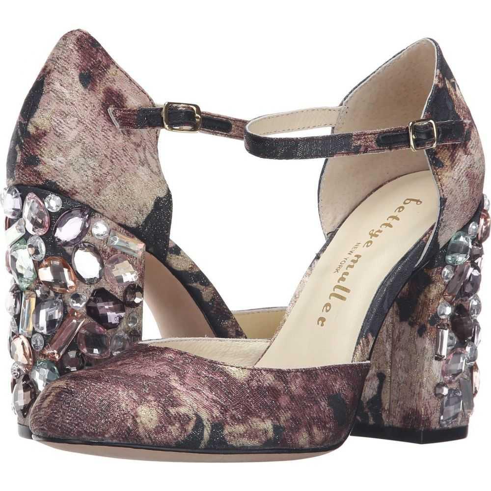 ベッティー ミュラー Bettye Muller レディース パンプス シューズ・靴【Bejeweled】Charcoal Multi