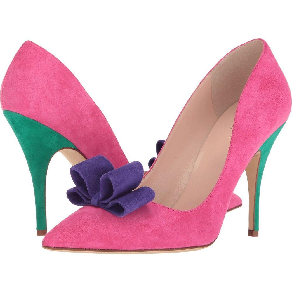 ケイト スペード Kate Spade New York レディース パンプス シューズ・靴【Latrice】Pink Swirl/Ink Blue Suede
