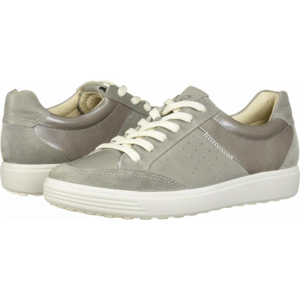エコー ECCO レディース スニーカー シューズ・靴【Soft 7 Leisure Sneaker】Wild Dove/Wild Dove/Wild Dove Suede/Cow Leather/Cow Leather