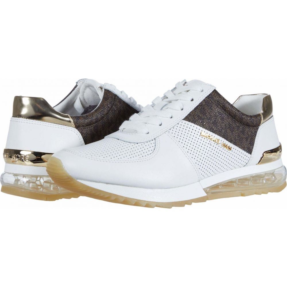 マイケル コース MICHAEL Michael Kors レディース スニーカー シューズ・靴【Allie Trainer Extreme】Bright White/Multi