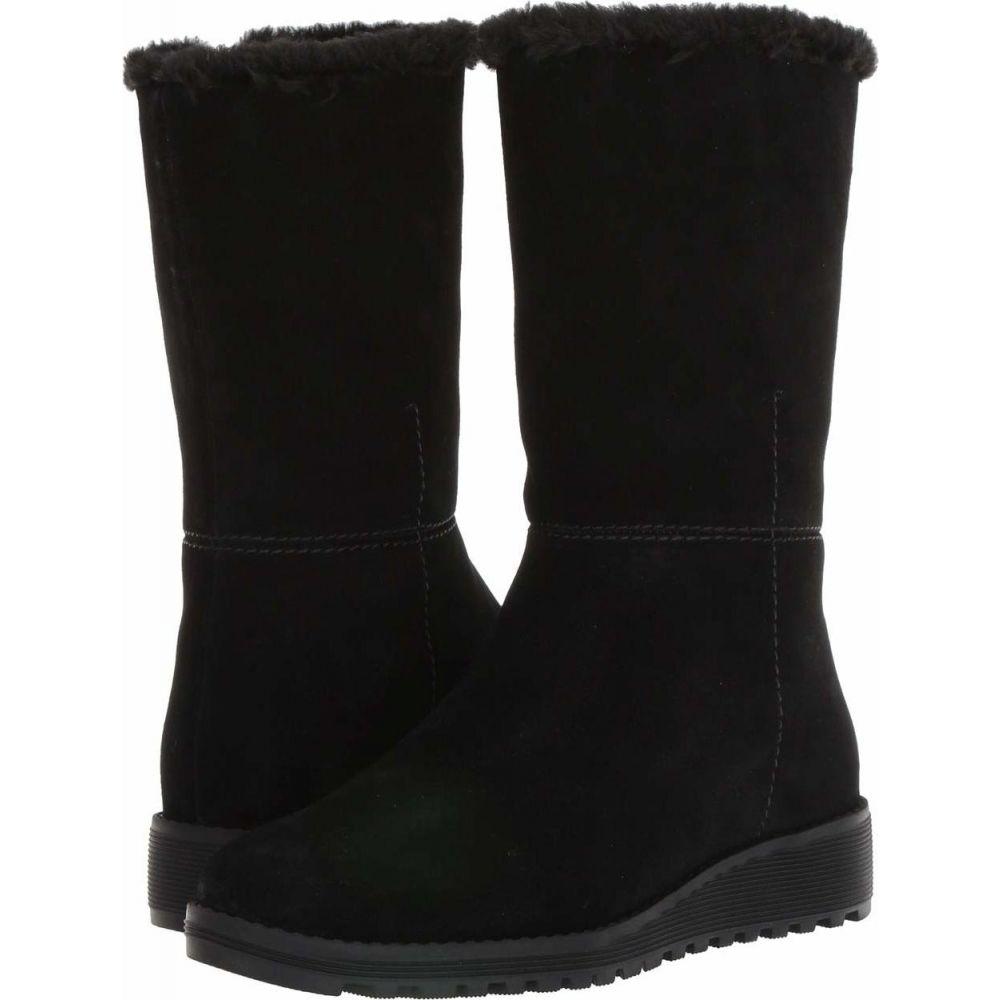 VALDINI レディース ブーツ シューズ・靴【Sofia Waterproof Boot】Black Suede