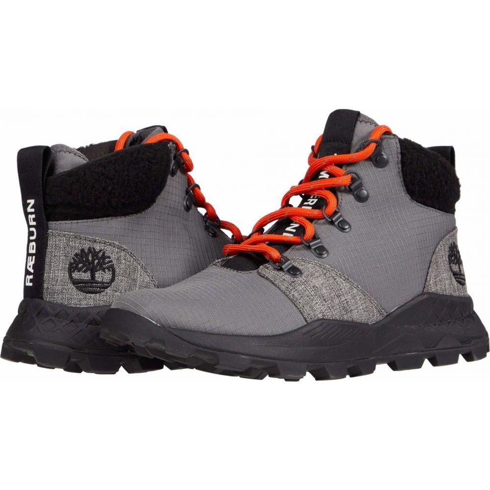ティンバーランド メンズ ハイキング 登山 シューズ 人気海外一番 靴 Pewter Fabric サイズ交換無料 Mid Sneaker 新作 人気 スニーカー Brooklyn Timberland