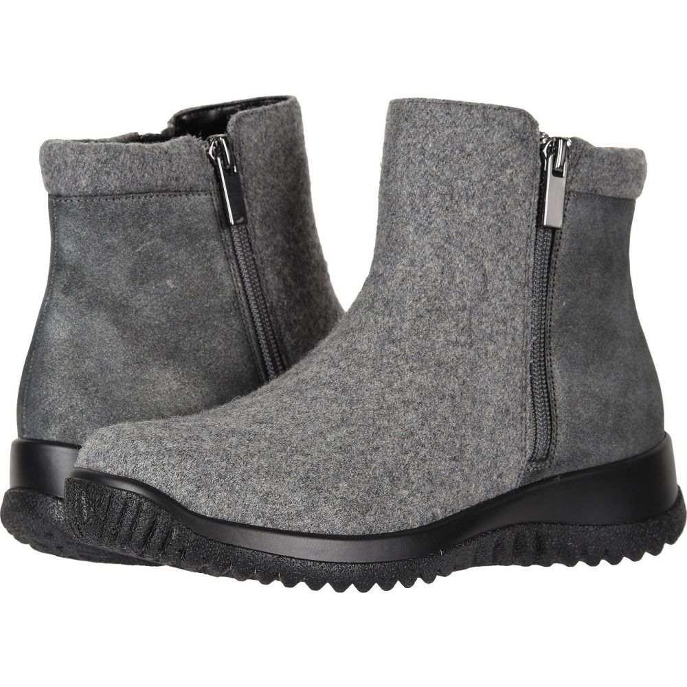 ドリュー Drew レディース ブーツ シューズ・靴【Kool】Grey Suede/Flannel