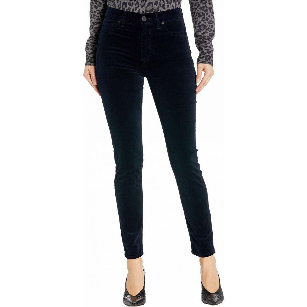 ハドソンジーンズ Hudson Jeans レディース ジーンズ・デニム ボトムス・パンツ【Barbara Velvet High-Waist Super Skinny Ankle in Midnight Navy】Midnight Navy