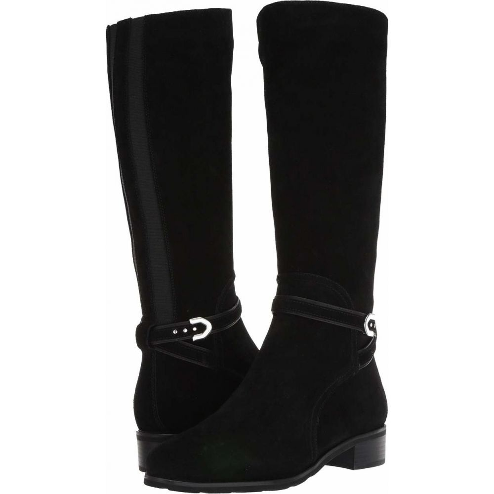 VALDINI レディース ブーツ シューズ・靴【Becky Waterproof Boot】Black Suede