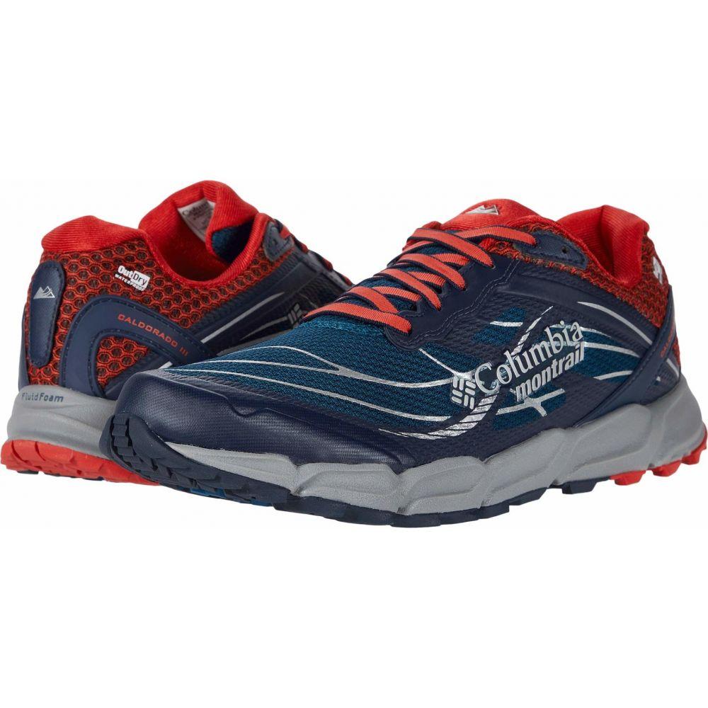 コロンビア Columbia メンズ ランニング・ウォーキング シューズ・靴【Caldorado III Outdry】Phoenix Blue/Super Sonic