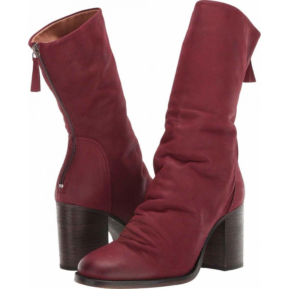 フリーピープル Free People レディース ブーツ シューズ・靴【Elle Block Heel Boot】Wine