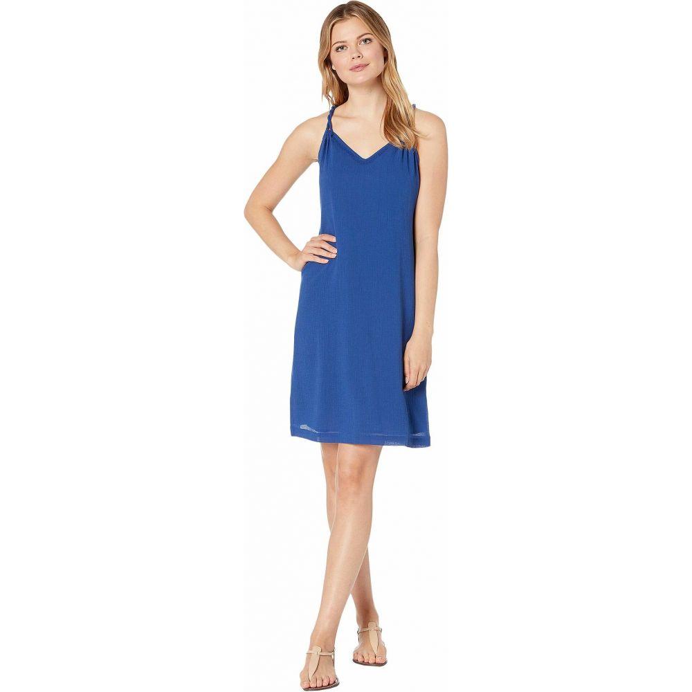 トミー バハマ Tommy Bahama レディース ワンピース ワンピース・ドレス【Coastview Gauze Short Dress】Dark Cobalt