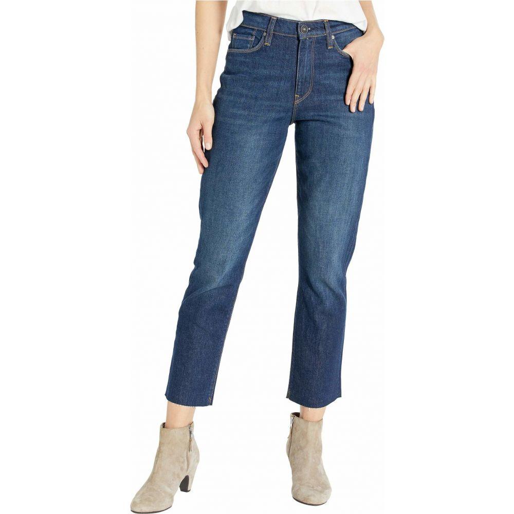 ハドソンジーンズ Hudson Jeans レディース ジーンズ・デニム ボトムス・パンツ【Holly Straight High-Rise Crop in Impromptu】Impromptu