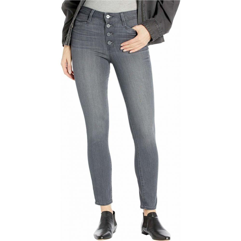 ペイジ Paige レディース ジーンズ・デニム ボトムス・パンツ【Hoxton Ankle w/ Exposed Buttonfly and Joxxi Pockets in Dusky Grey】Dusky Grey