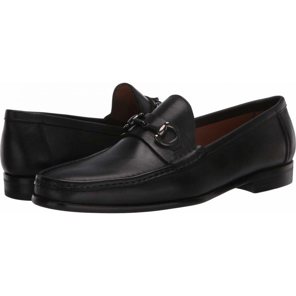 マッテオ マッシモ Massimo Matteo メンズ ローファー モカシン シューズ・靴【Almansa Moccasin Bit】Black