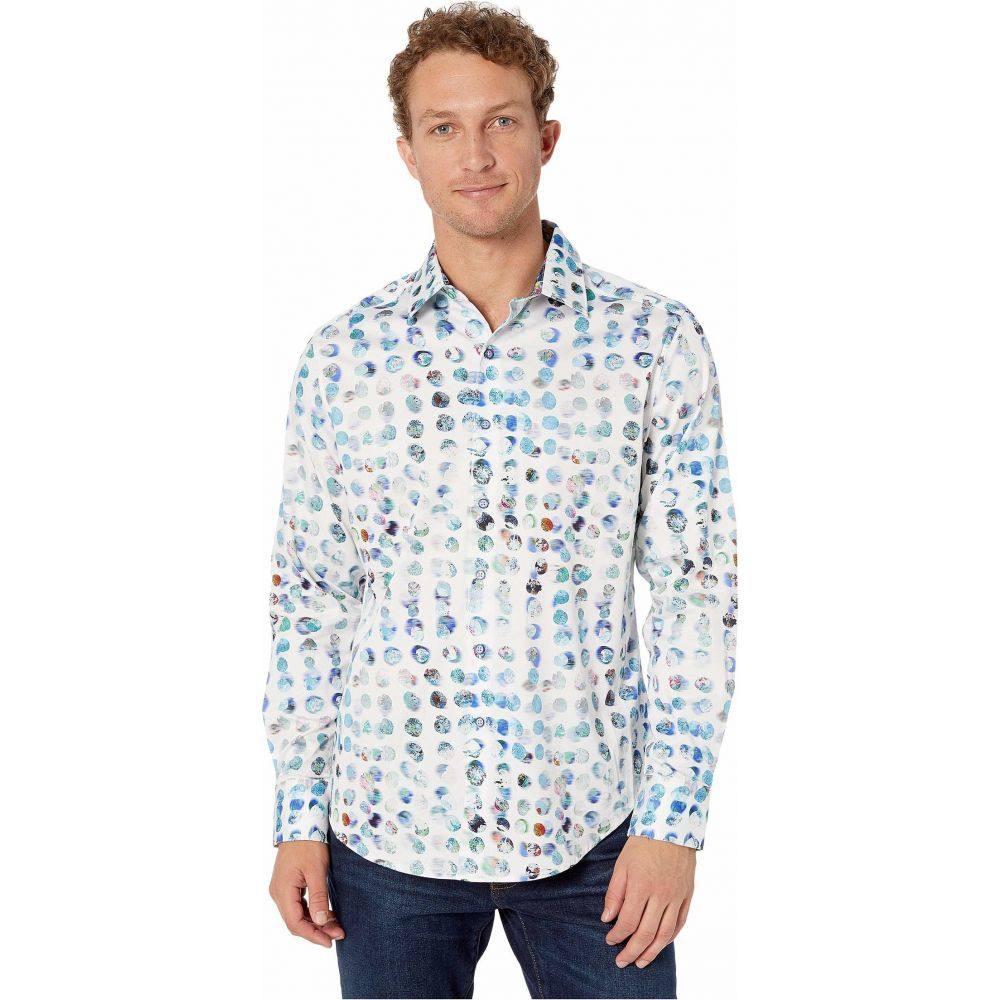 ロバートグラハム Robert Graham メンズ シャツ トップス【Classic Fit Flaskback Sport Shirt】White
