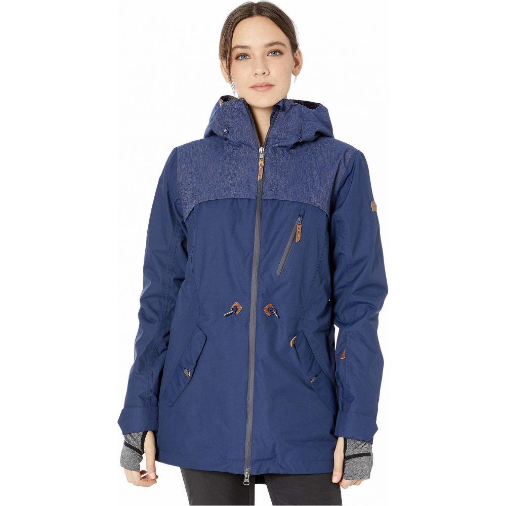 ロキシー Roxy レディース スキー・スノーボード ジャケット アウター【Stated Snow Jacket】Medieval Blue