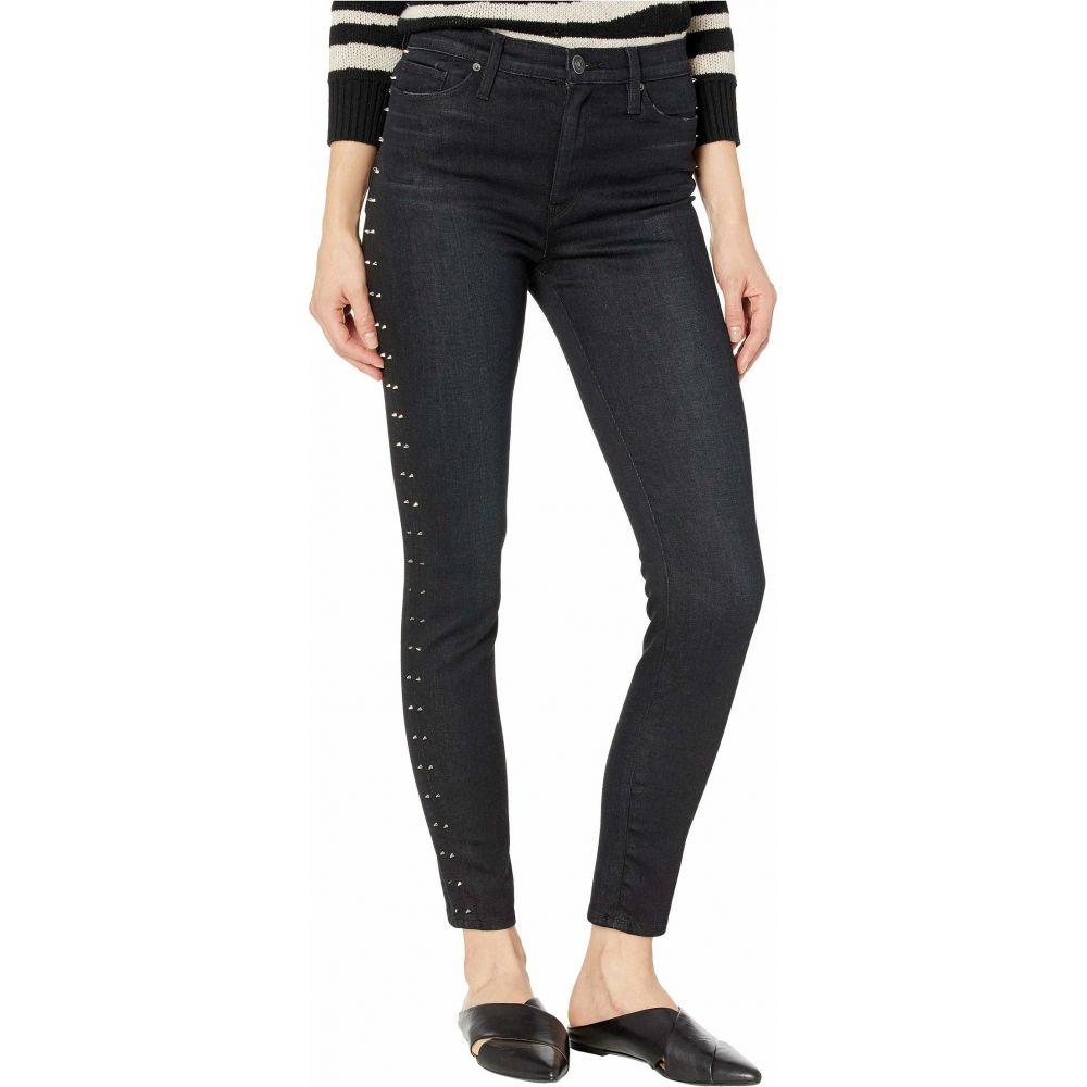 ハドソンジーンズ Hudson Jeans レディース ジーンズ・デニム ボトムス・パンツ【Barbara High-Waist Super Skinny Ankle in Studded Incline】Studded Incline