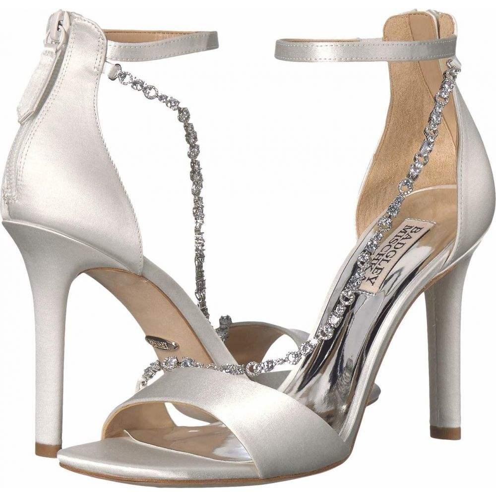 バッジェリー ミシュカ Badgley Mischka レディース サンダル・ミュール シューズ・靴【Erika】Soft White Satin