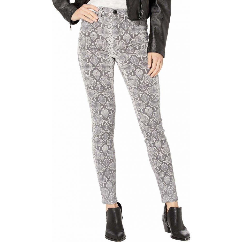 ハドソンジーンズ Hudson Jeans レディース ジーンズ・デニム ボトムス・パンツ【Barbara High-Rise Super Skinny in Metallic Python】Metallic Python