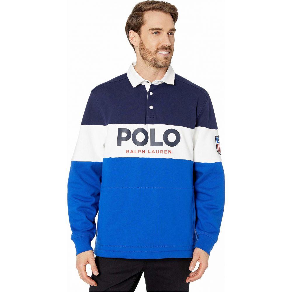 ラルフ ローレン Polo Ralph Lauren メンズ ポロシャツ トップス【Polo Active Rugby Sweater】Newport Navy Multi