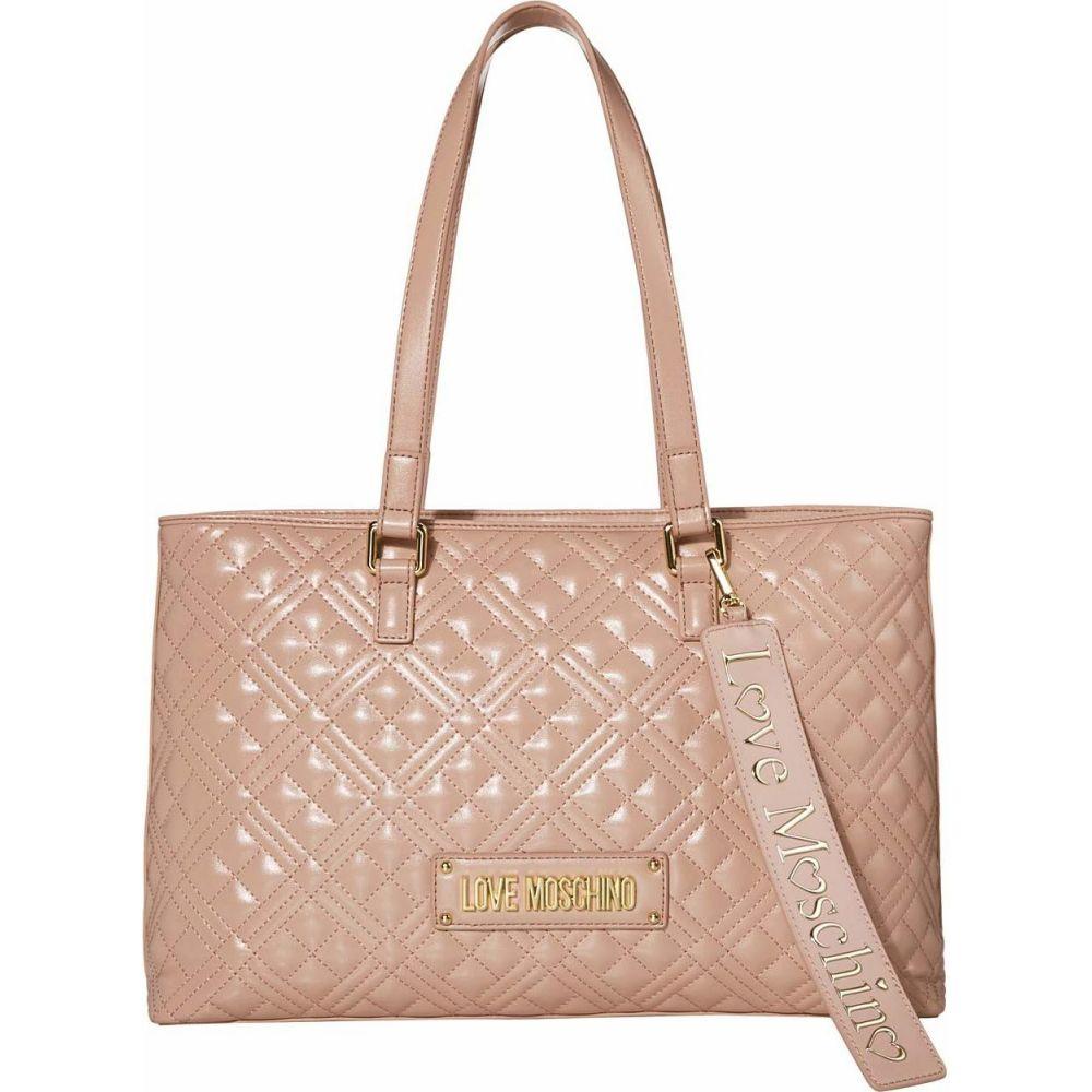 モスキーノ LOVE Moschino レディース トートバッグ バッグ【Quilted Tote Bag】Pink